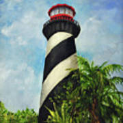 St. Augustine Lighthouse Art Print