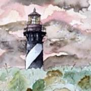 St Augustine Lighthouse Art Print