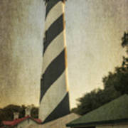 St Augustine Lighthouse Dsc00390_16 Art Print