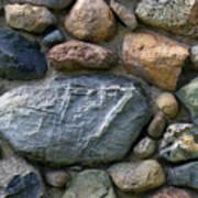 St. Augustine Stone Wall 2 090118 Art Print