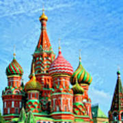 St. Basil's Cathedral Moscow Art Print