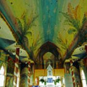 St Benedicts Painted Church 6 Art Print
