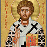St. Boniface Of Germany - Jcbon Art Print