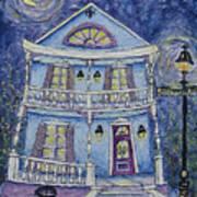 St. Charles Blue House Art Print