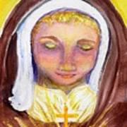 St. Clare Art Print by Susan  Clark