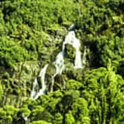 St Columba Falls Tasmania Art Print