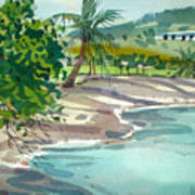St. Croix Beach Art Print