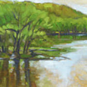 St. Croix, Spring Flood Art Print