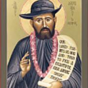 St. Damien The Leper - Rldtl Art Print