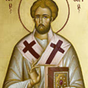 St Eleftherios Print by Julia Bridget Hayes