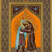 St. Francis And The Sultan - Rlsul Art Print