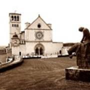 St. Francis Basilica, Assisi  Art Print