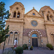 St. Francis Cathedral #2 Art Print