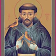 St. Francis Of Assisi - Rlfob Art Print