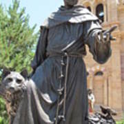 St. Francis Of Assissi Art Print