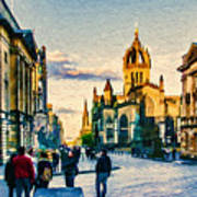 St Giles' Cathedral Art Print