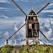 St. Janshuis Windmill Art Print