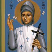 St. Joan Of Arc - Rljoa Art Print