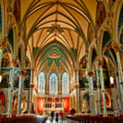 St John The Baptist Catholic Cathedral - Savannah Art Print