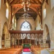 St John The Baptist Penshurst Interior Art Print