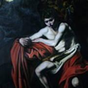St John The Baptist Reproduction Art Print