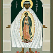 St. Juan Diego And The Miracle Of Guadalupe - Rljdm Art Print