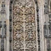 St. Lamberti Church - Stone Relief Art Print