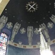 St Leo Angels Art Print
