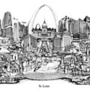 St. Louis 4 Art Print