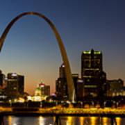 St. Louis Arch Art Print