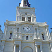 St. Louis Cathedral Study 1 Art Print