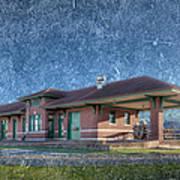 St Louis Iron Mountain Depot Art Print
