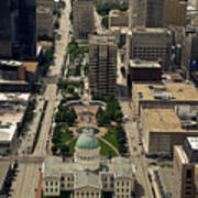 St. Louis Overview Art Print