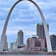 St Louis Panoramic View Art Print