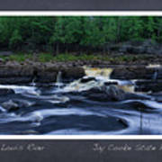 St Louis River Scrapbook Page 1 Art Print