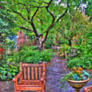 St. Luke Garden Sanctuary Art Print
