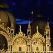 St. Mark's Basilica at Sunrise Art Print