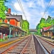 St. Martins Train Station Art Print