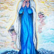 St Mary Of The Valley Art Print