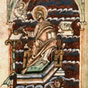 St. Matthew, 10th Century Art Print