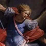 St Michael Detail Art Print