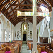 St Mylor Altar Cross Art Print