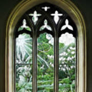 St Nicholas And St Magnus Church Window - Impressions Art Print