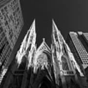 St Patrick's Cathedral  Art Print
