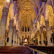 St Patrick's Cathedral Art Print