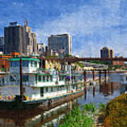 St Paul Tugboat Art Print