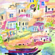St. Paul's Bay Malta Memories Art Print