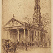 St. Paul's, Broadway, N.y. Art Print