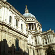 St Pauls Cathedral London 2 Art Print