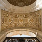 St Peter's Ceiling Detail Art Print